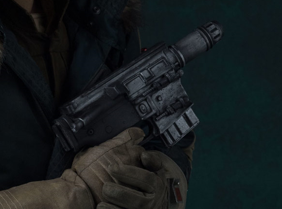 A280-CFE convertible heavy blaster pistol