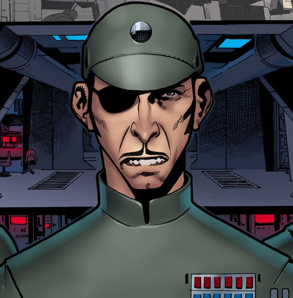 Unidentified Imperial admiral (Harbinger)