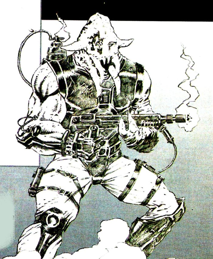 Unidentified Quarren mercenary
