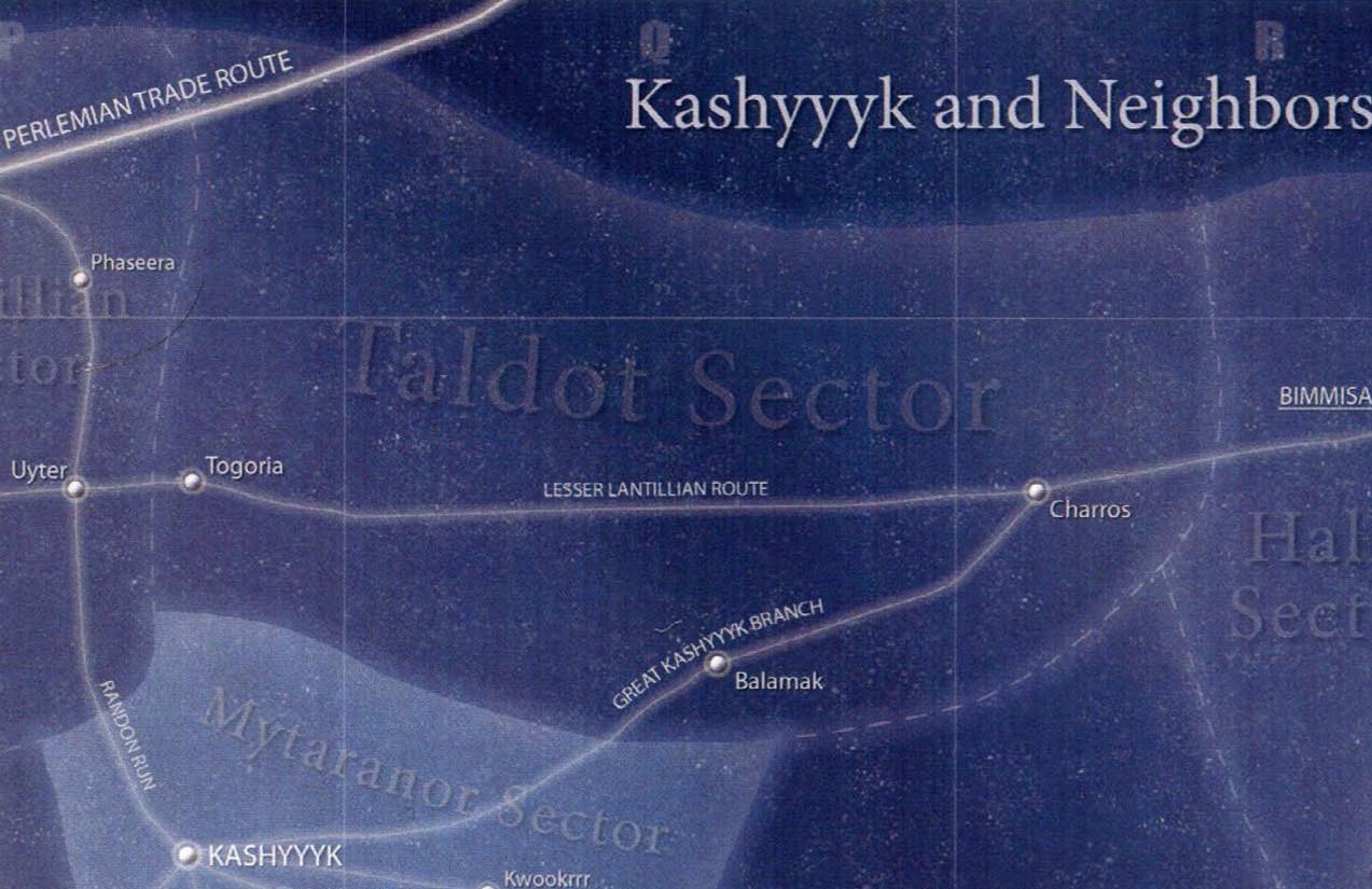 Taldot sector/Legends