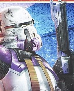 187th Legion's clone commander