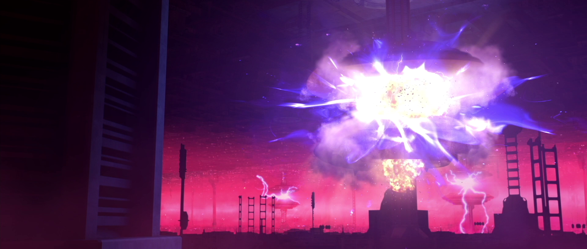 Bombing of Coruscant's central power distribution grid