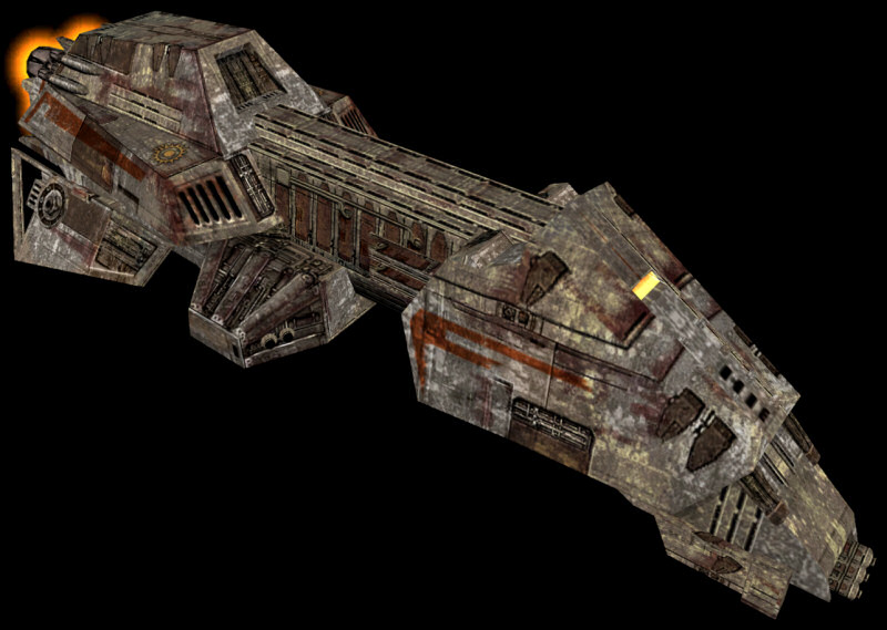 Interceptor-class frigate/Legends