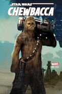 Star Wars Chewbacca 1 Variant Cover