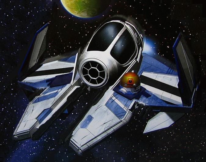 Aayla Secura's Eta-2 Actis-class interceptor