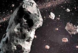 Roche Asteroid Field