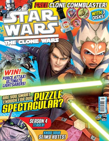 Star Wars: The Clone Wars Comic UK 6.25