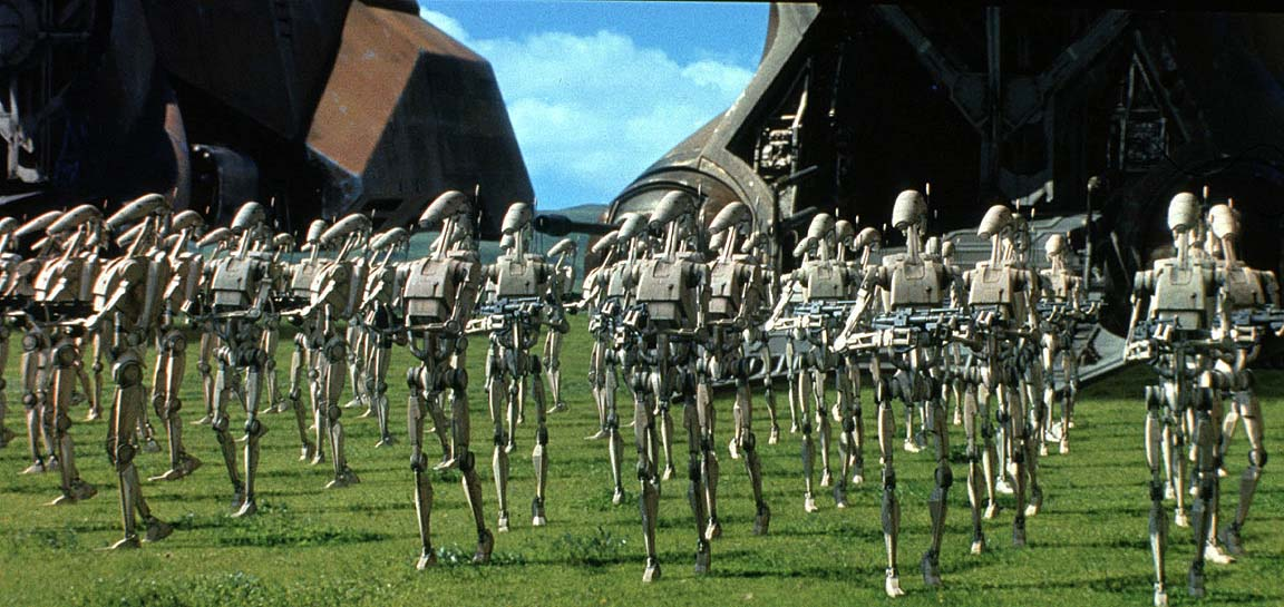 Trade Federation Droid Army