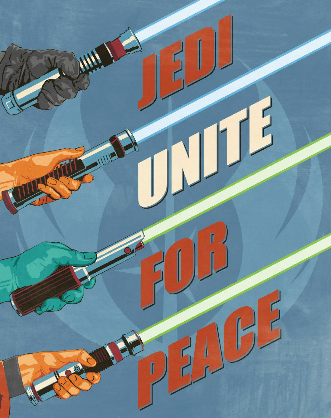 Jedi Unite for Peace