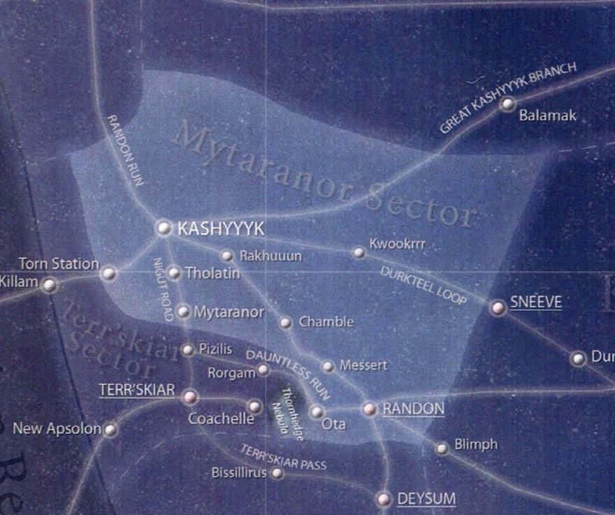 Mytaranor sector/Legends