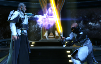 Arcann Wookieepedia Fandom Vitiate/valkorion doesn't have the feats to match sidious' physical abilities and lightsaber duelling skills, so if sidious presses into a duel he is going to win. arcann wookieepedia fandom