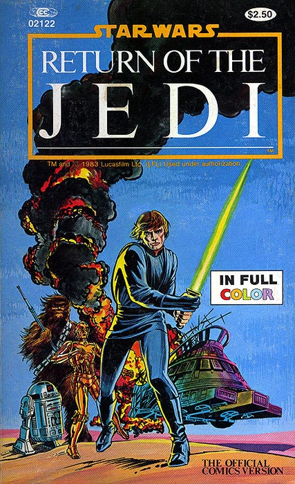 The Marvel Comics Illustrated Version of Return of the Jedi