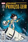 Princess Leia 1 Skottie Young Variant Cover