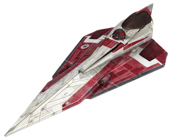 Obi-Wan Kenobi's Delta-7B Aethersprite-class light interceptor