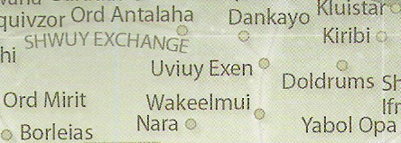 Uviuy Exen/Legends