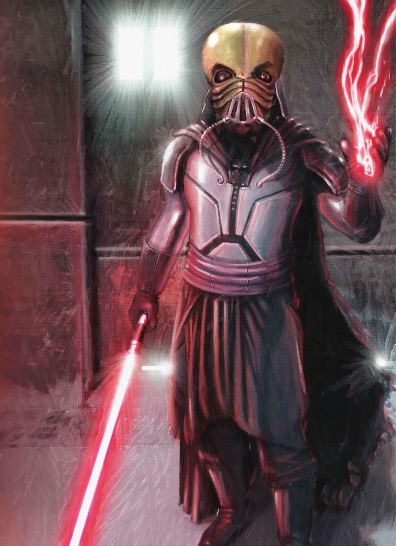 Darth Tenebrous's lightsaber