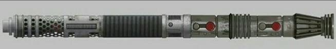 Darth Maul's double-bladed lightsaber