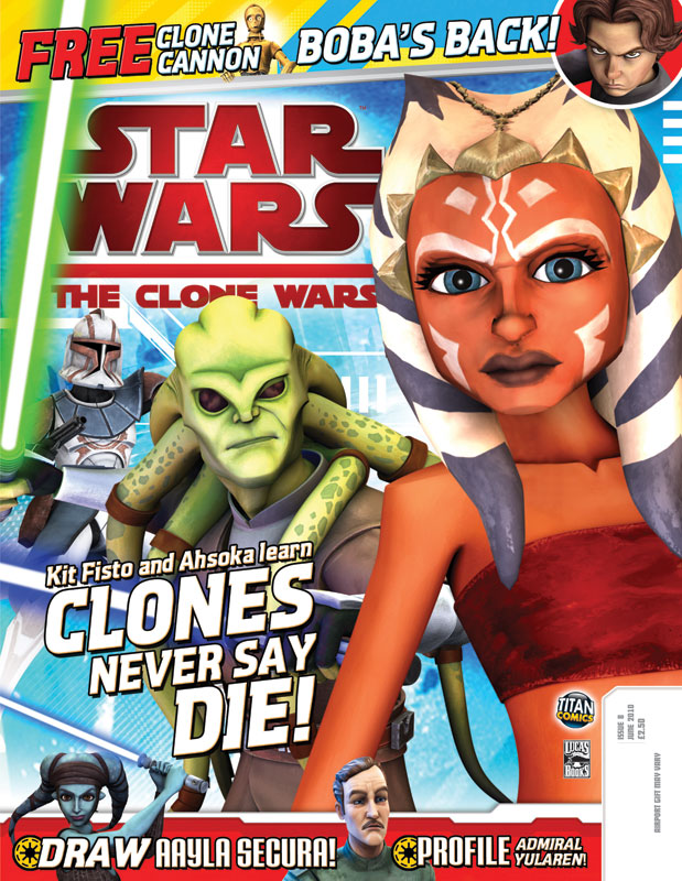 Star Wars: The Clone Wars Comic UK 6.8
