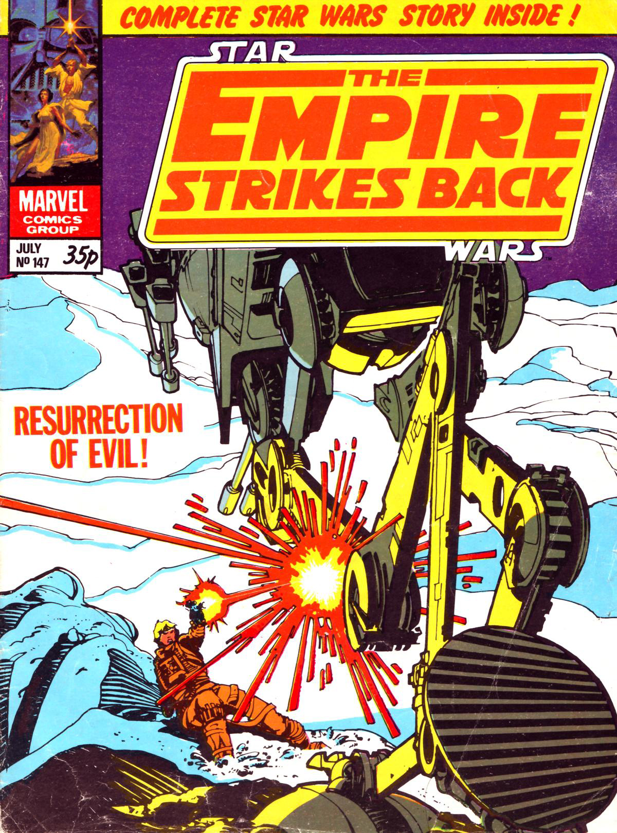 The Empire Strikes Back Monthly 147