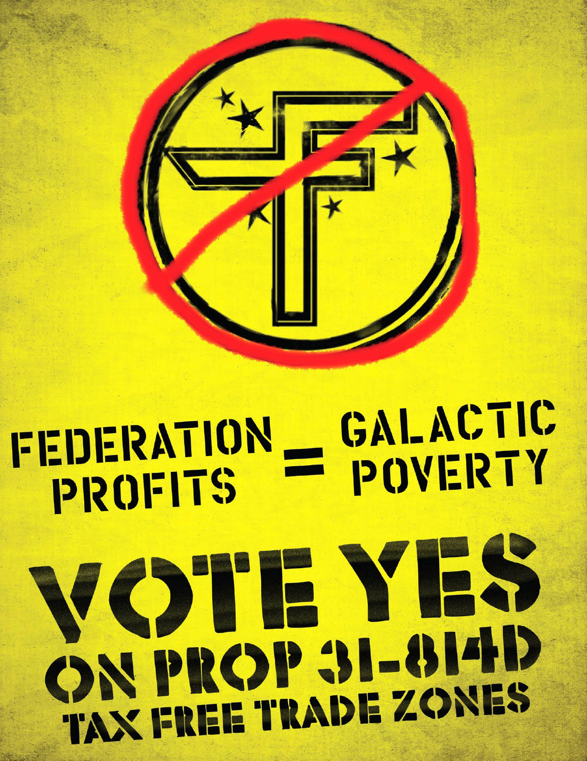 Vote Yes on Prop 31-814D