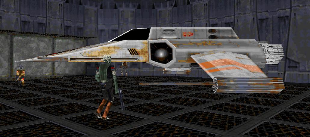 Abron Mar's R-41 Starchaser