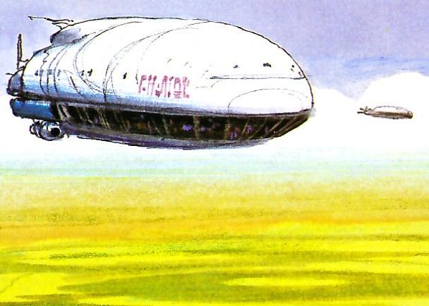 Alderaanian flying hotel