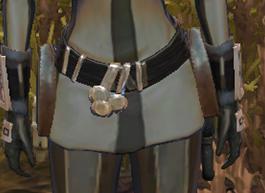Gamorrean frilled leatheris belt