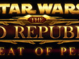 Star Wars: The Old Republic, Threat of Peace