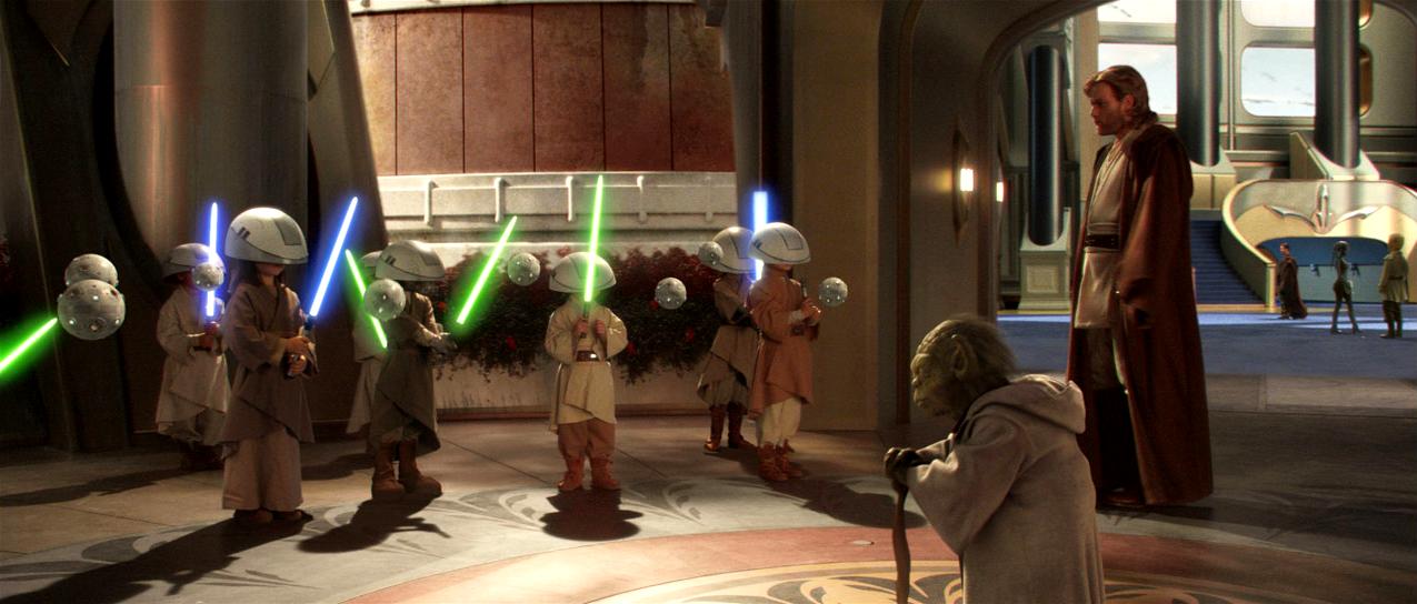 Jedi Temple Veranda