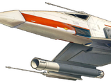 E-wing escort starfighter