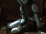 Unidentified Twi'lek slave (Bib Fortuna)