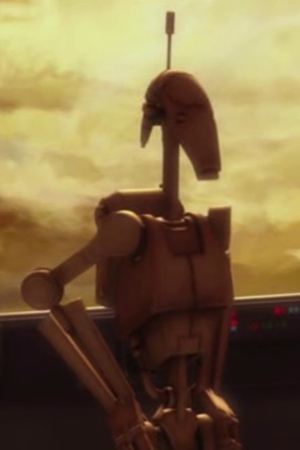 Unidentified B1 battle droid 1 (Skytop Station)