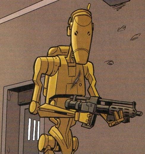 Unidentified B1 battle droid (Separatist factory)