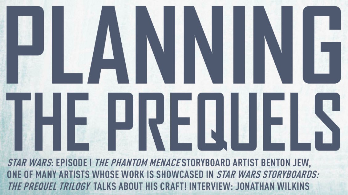 Planning the Prequels