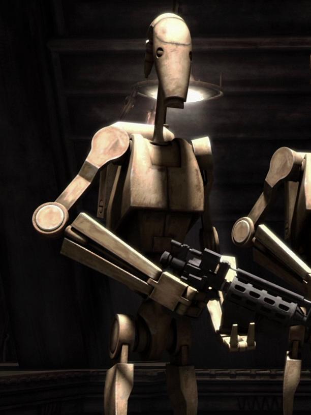 Unidentified B1 battle droid lieutenant