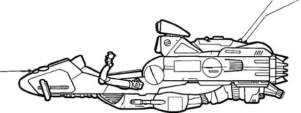 64-Y Swift 3 Repulsorlift Sled