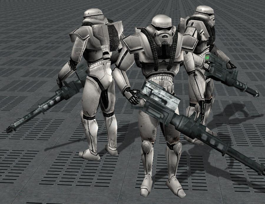 Phase II dark trooper/Legends