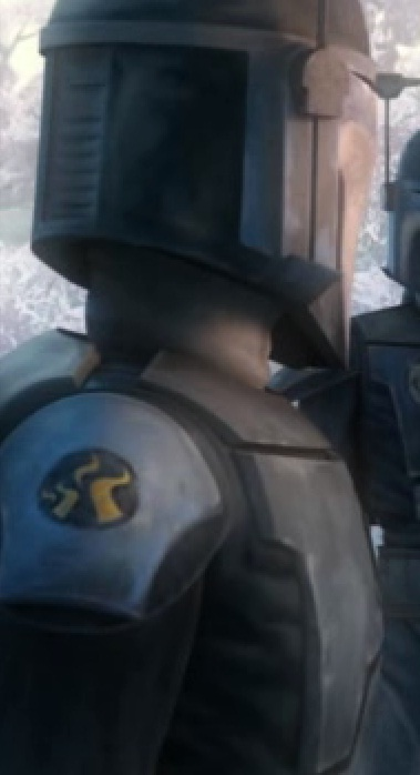 Unidentified Death Watch soldier 1