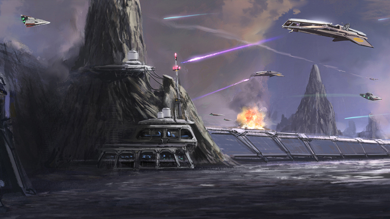 Battle of Balmorra (Great Galactic Wars)