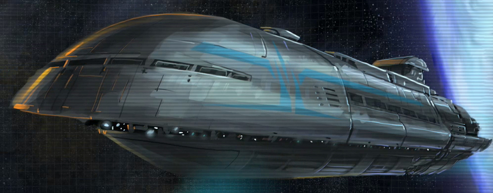 Republic transport ship