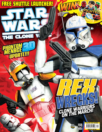 Star Wars: The Clone Wars Comic UK 6.29