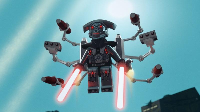 M-OC's lightsabers