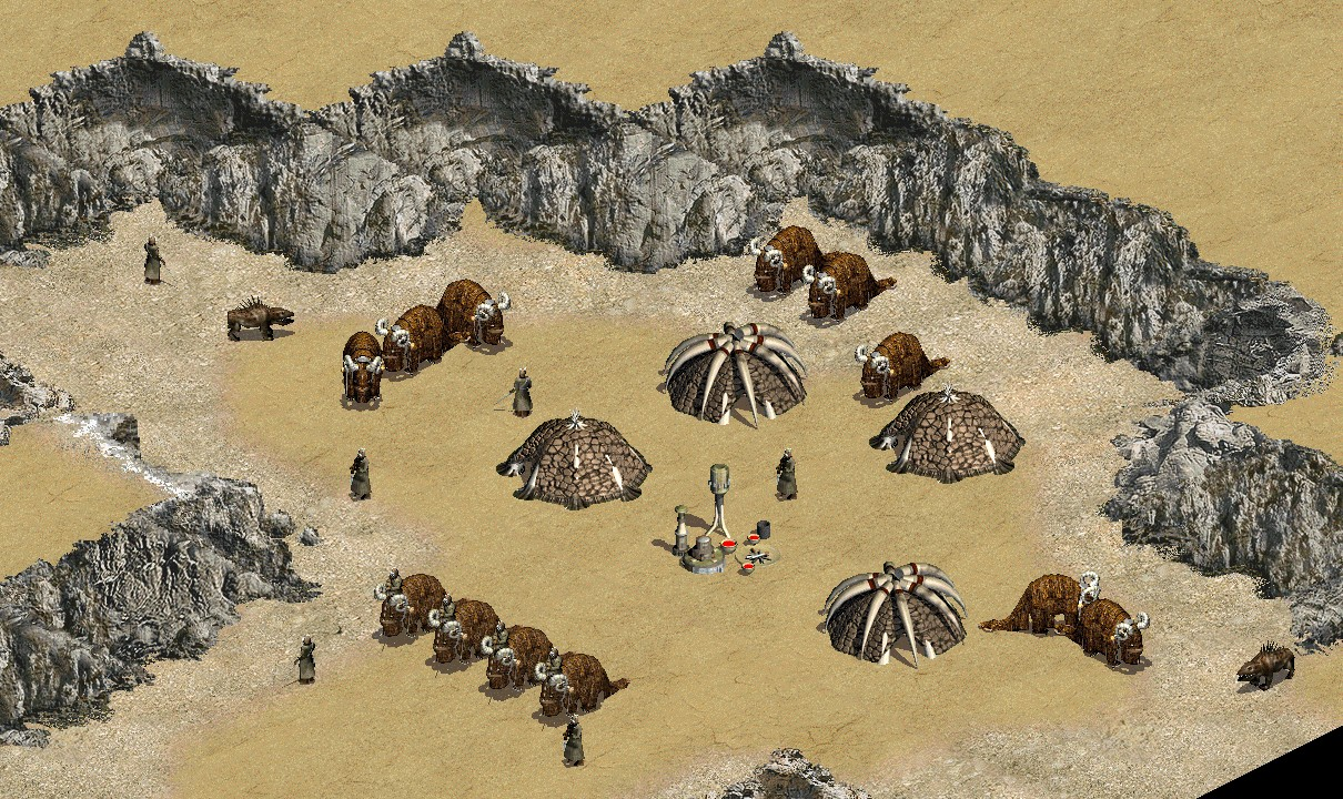 Unidentified Tusken Raider camp (Jundland Station)