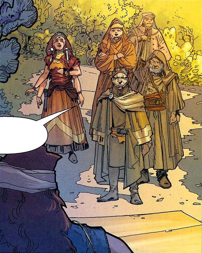 Codru-Ji clan leader meeting
