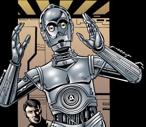 Ch'Unkk's protocol droid