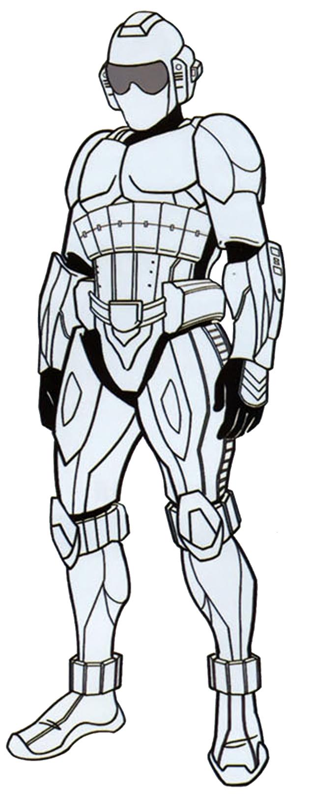 Protector 1 combat armor