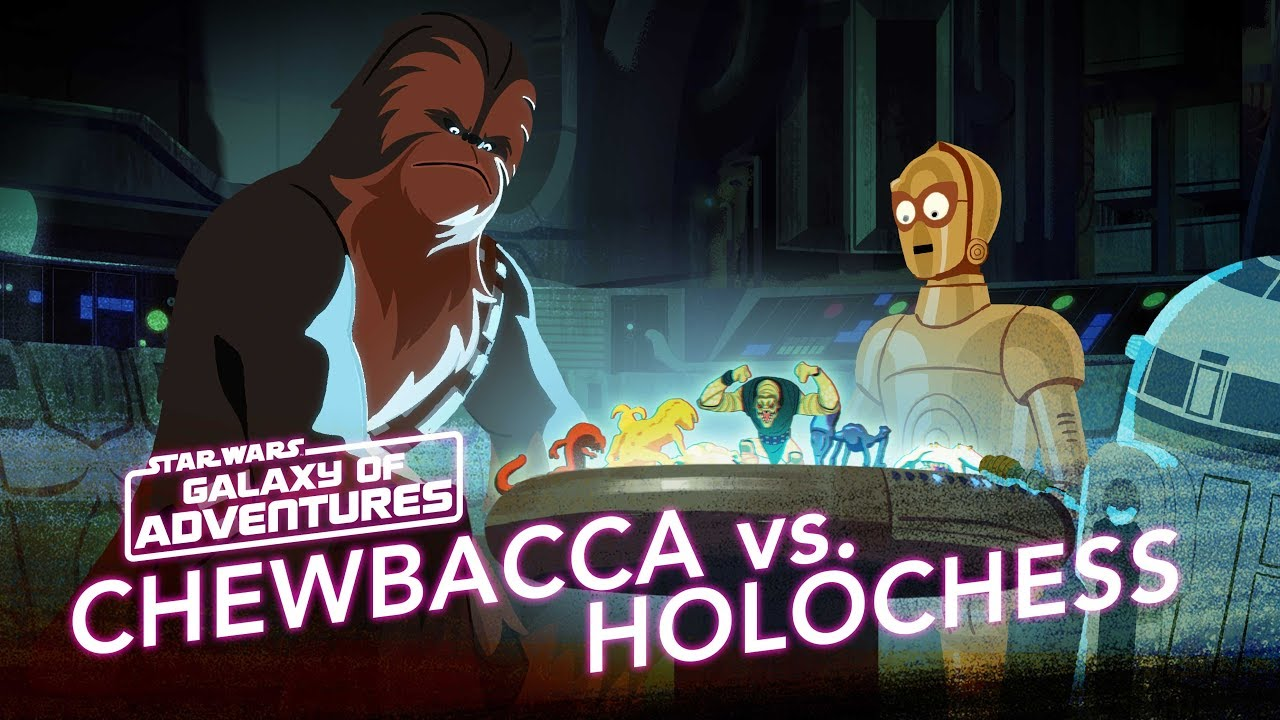 Chewie vs. Holochess - Let the Wookiee Win