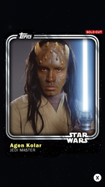 Agen Kolar - Jedi Master - Base Series 1