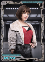 Qi'ra - Solo: A Star Wars Story - Parallax - Coronet Spaceport