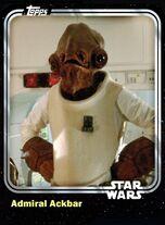 Admiral Ackbar - Rebel Leader - Base Series 1